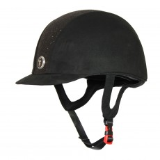 Gatehouse Jeunesse Riding Hat (Black Glitter)