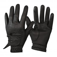 Mark Todd Adults Leather Riding/Show Gloves (Black)