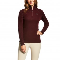 Ariat Women's Cadence Wool Quarter Zip (Malbec)