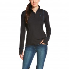 Ariat Women's Lowell Quarter Zip (Ebony)