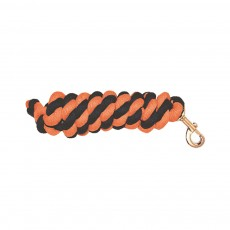 Mark Todd Cotton Lead Rope (Navy & Orange)