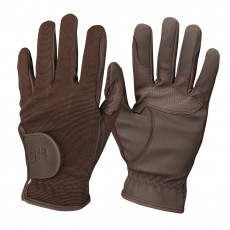 Mark Todd Kid's Super Riding Gloves (Brown)