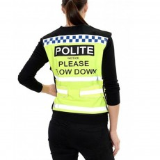 Equisafety Adults POLITE Air Waistcoat (Yellow)