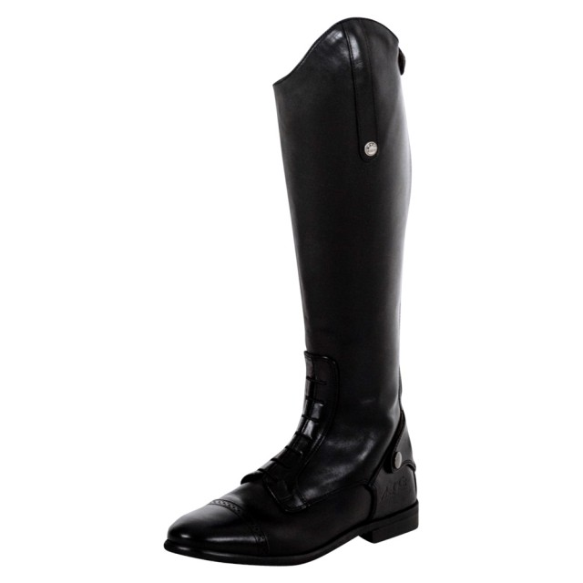 Mark Todd Adults Long Leather Competition Field Boot Black