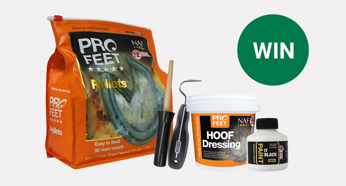 Win a Hoof Care Bundle worth over £60!