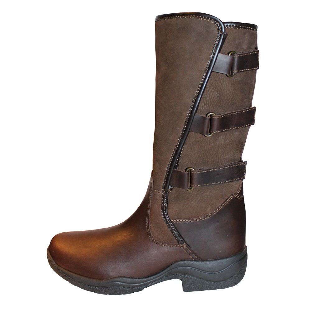 Mark Todd Women S Adjustable Short Boots Brown Old Dairy