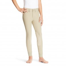 Ariat (Sample) Youth Heritage Elite Knee Patch Breeches (Tan)