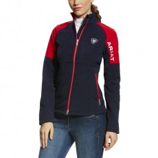 Ariat Women's Continental Softshell Jacket (Navy Team)