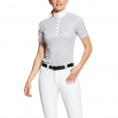 Ariat Women's Showstopper Show Shirt 2.0 (Pearl Grey)