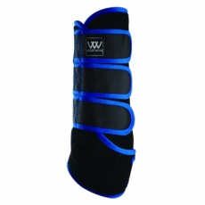 Woof Wear Dressage Wrap Colour Fusion (Black/Electric Blue)