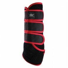 Woof Wear Dressage Wrap Colour Fusion (Black/Royal Red)