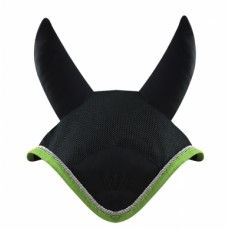 Woof Wear Fly Veil (Black/Lime)