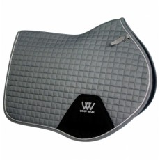 Woof Wear Close Contact Saddle Cloth Colour Fusion (Brushed Steel)
