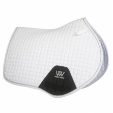 Woof Wear Close Contact Saddle Cloth (White)