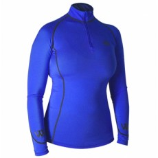 Woof Wear Ladies Performance Riding Shirt (Electric Blue)