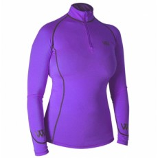 Woof Wear Ladies Performance Riding Shirt (Ultra Violet)