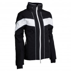 Equisafety Adults Giorgione Waterproof Jacket (White/Black)