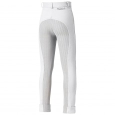 Harry Hall Junior Chester Tex Sticky Bum Breeches (White)