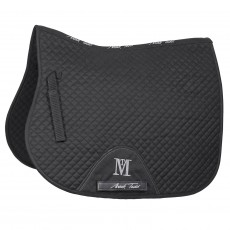 Mark Todd Super Cotton High Wither GP Saddlepad (Black)