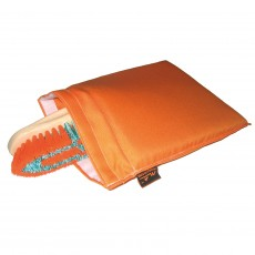 Moorland Rider Brush Wash Bag (Orange)
