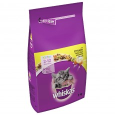 Whiskas 2-12 Months Kitten Complete Dry (Chicken) 2kg