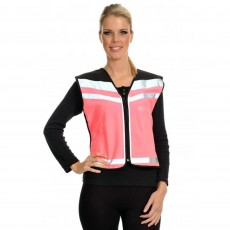Equisafety Air Waistcoat - Horse in Training Please Slow Down (Pink)