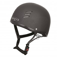 Gatehouse HS1-V Vented Jockey Skull Hat (Matt Black)
