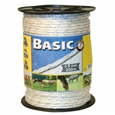 Basic Fencing Rope C/W S/Steel Wires 200m