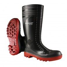 Dunlop Acifort Ribbed Safety Wellies