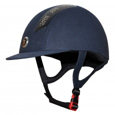 Gatehouse (Ex Display) Chelsea Air Flow Pro Riding Hat (Suedette Navy)