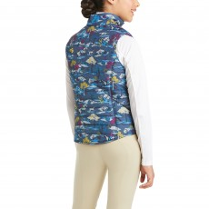 Ariat Youth Emma Reversible Insulated Vest (Multi)