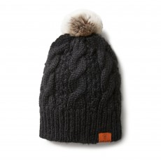 Ariat Cable Beanie (Black)