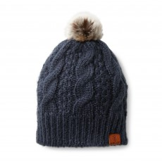 Ariat Cable Beanie (Navy)
