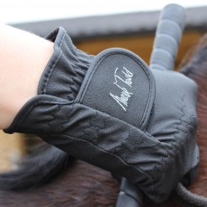 Mark Todd Adults Synthetic Riding Gloves (Black)