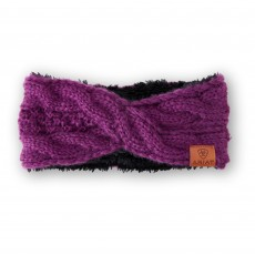 Ariat Cable Headband (Imperial Violet)