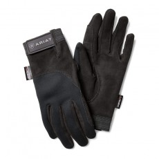 Ariat Adults Insulated Tek Grip Gloves (Black)