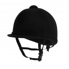 Charles Owen (Ex Display) Young Riders Suede Hat (Black)