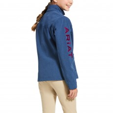 Ariat Youth New Team Softshell Jacket (Marine Blue)