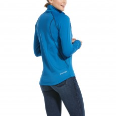 Ariat Women's Conquest 2.0 1/2 Zip Sweatshirt (Blue Dawn)