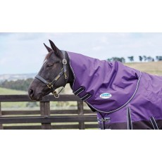 Weatherbeeta Comfitec - Plus Dynamic Turnout - Neck Cover (Only) - Med/Lightweight (Purple/Black)