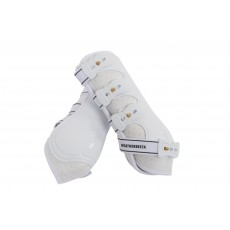 Weatherbeeta Hard Shell Dressage Boots (White)