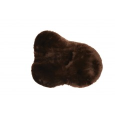 Weatherbeeta Merino Sheepskin Seat Saver (Brown)
