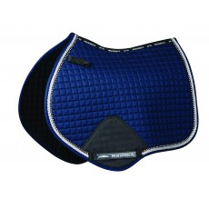 Weatherbeeta Prime Bling Jump Shaped Saddle Pad (Navy)
