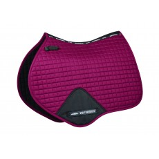 Weatherbeeta Prime Jump Shaped Saddle Pad (Maroon)