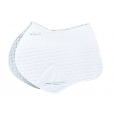 Weatherbeeta Prime Jump Shaped Saddle Pad (White)