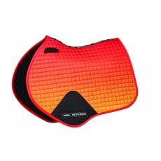 Weatherbeeta Prime Ombre Jump Shaped Saddle Pad (Autumn Glow)