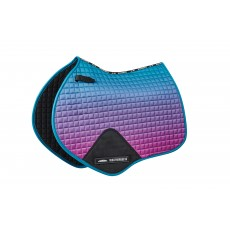Weatherbeeta Prime Ombre Jump Shaped Saddle Pad (Midnight Aurora)