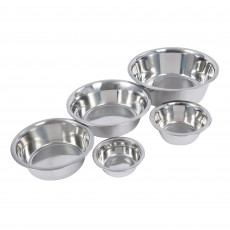 Weatherbeeta Standard Stainless Steel Dog Bowl (Silver)