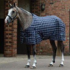 Saxon 1200d Pp Stable Standard Neck Medium (Navy Plaid)