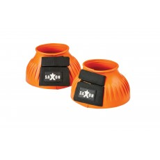 Saxon Ribbed Touch Tape Bell Boots (Orange)